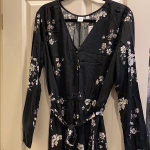 Gap long sleeved dress